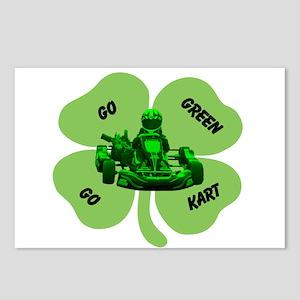 Go Green Go Kart Postcards (Package of 8)