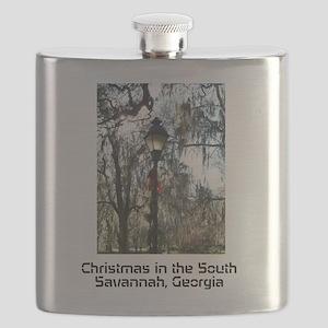 Savannah Christmas Flask