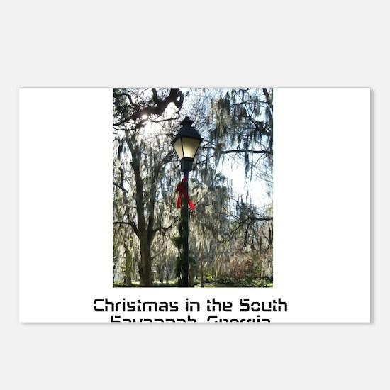 Savannah Christmas Postcards (Package of 8)