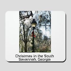 Savannah Christmas Mousepad
