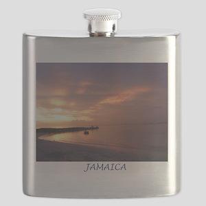 Jamaica Sunset Flask