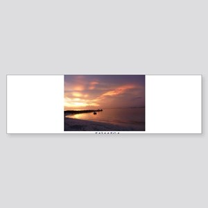 Jamaica Sunset Sticker (Bumper)