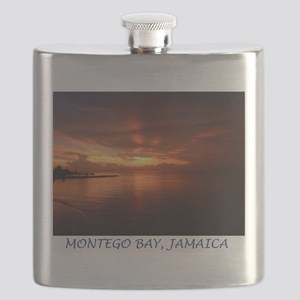 Montego Bay Sunset Flask
