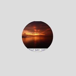Montego Bay Sunset Mini Button
