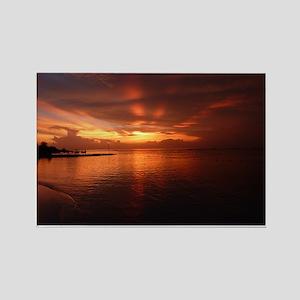 Montego Bay Sunset Rectangle Magnet
