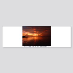 Montego Bay Sunset Sticker (Bumper)