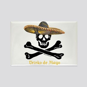 Drinko de Mayo (CW) Rectangle Magnet