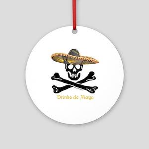 Drinko de Mayo (CW) Ornament (Round)