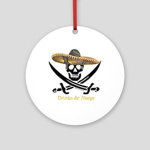 Drinko de Mayo (SW) Ornament (Round)