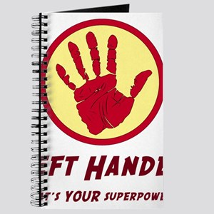 Left Handed Super Power Journal