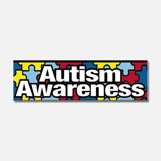 Funny Children with disabilities Car Magnet 10 x 3