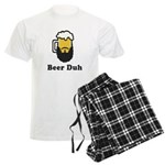 Beer Duh Men's Light Pajamas