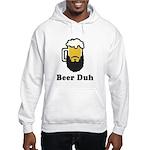 Beer Duh Hooded Sweatshirt