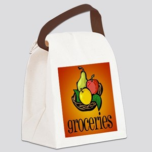 grocery bag Canvas Lunch Bag