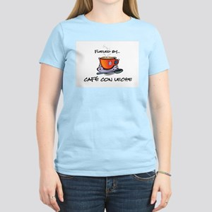 Fueled by Cafe con Leche Women's Light T-Shirt