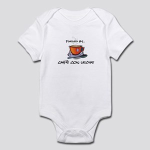 Fueled by Cafe con Leche Infant Bodysuit