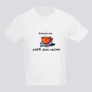 Fueled by Cafe con Leche Kids Light T-Shirt