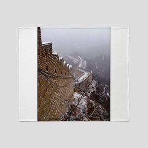 Great Wall Mutianyu Throw Blanket