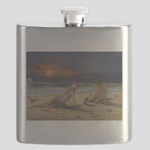mermaids Flask