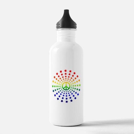Peace Burst Water Bottle