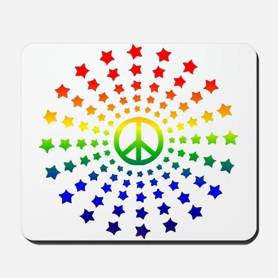 Peace Burst Mousepad