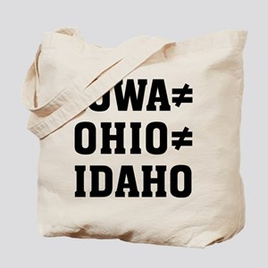 Iowa Ohio Tote Bag