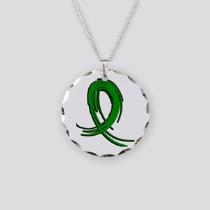 Mitochondrial Disease Graffi Necklace Circle Charm