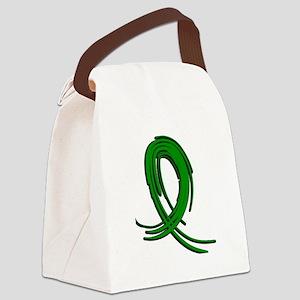 Neurofibromatosis Graffiti Ribbon Canvas Lunch Bag