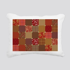 HOMESPUN QUILT Rectangular Canvas Pillow
