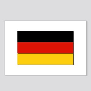 Flag of Germany - NO Text Postcards (Package of 8)
