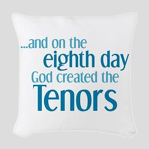 Tenor Creation Woven Throw Pillow