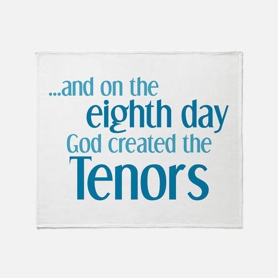 Tenor Creation Throw Blanket