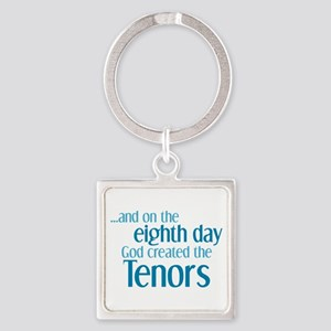 Tenor Creation Square Keychain