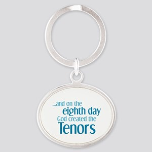 Tenor Creation Oval Keychain