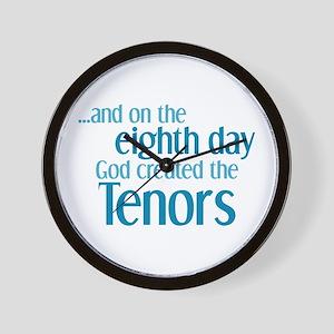Tenor Creation Wall Clock