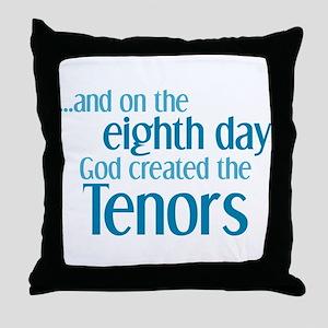 Tenor Creation Throw Pillow