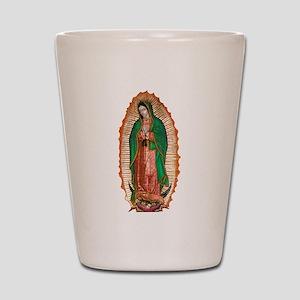 Guadalupe2 Shot Glass