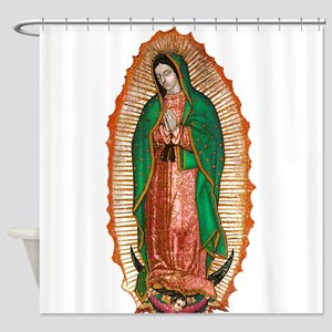 Guadalupe2 Shower Curtain
