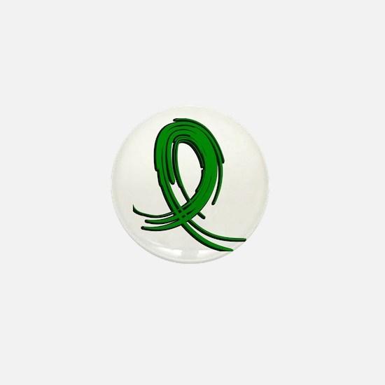 Gastroparesis Graffiti Ribbon 2 Mini Button