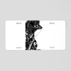 Isla Aluminum License Plate