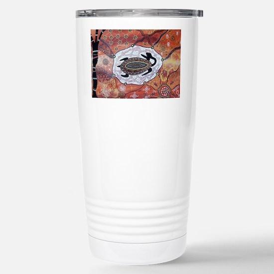 Turtle Dreaming Stainless Steel Travel Mug