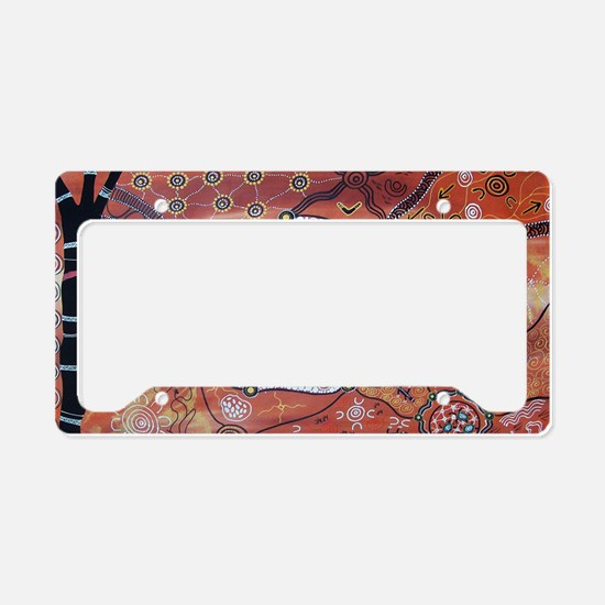 Turtle Dreaming License Plate Holder