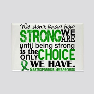 Gastroparesis How Strong We Are Rectangle Magnet