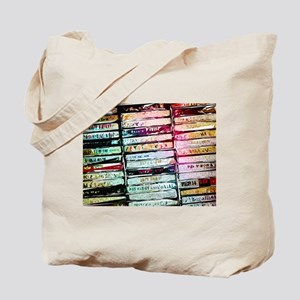 Abstract Cassettes Graphic Tote Bag