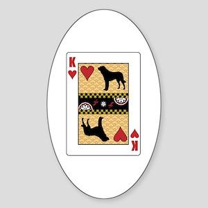 King Anatolian Oval Sticker