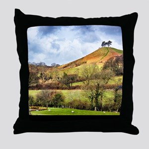 Colmers Hill Landscape Throw Pillow