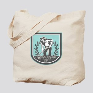 Organic Farmer Grabhoe Plant Shield Tote Bag