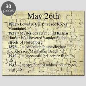 May 26th Puzzle