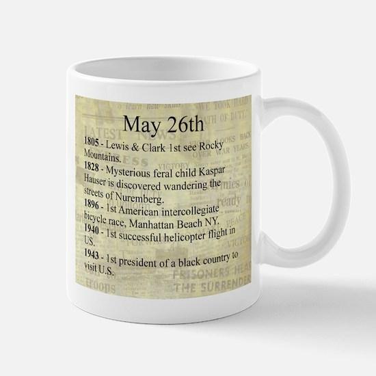 May 26th Mugs