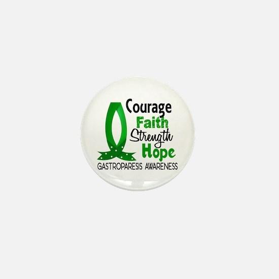 Gastroparesis Courage Faith 1 Mini Button
